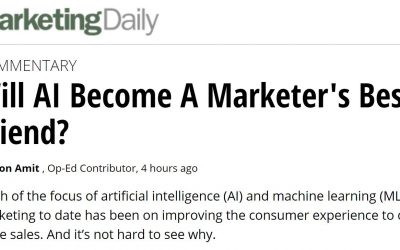 Will AI Become A Marketer's Best Friend?