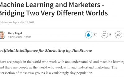 Book Review: Machine Learning and Marketers – Bridging Two Very Different Worlds