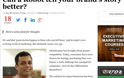 Can a Robot tell your brand's story better?